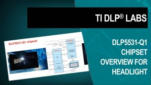 TI DLP® Labs - 汽车:高分辨率前照灯