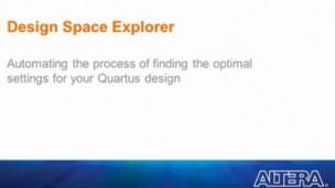 Altera Quartus II 14.1采用DSE优化Quartus II设计