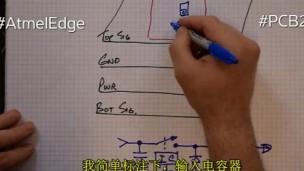 Atmel Edge PCB 201